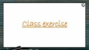 Neural Control And Coordination - Class Exercise (Session 1)