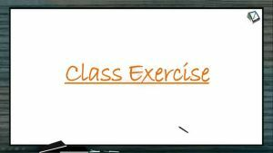 Neural Control And Coordination - Class Exercise (Session 4)