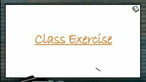 Neural Control And Coordination - Class Exercise (Session 5)