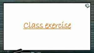 Neural Control And Coordination - Class Exercise (Session 7)