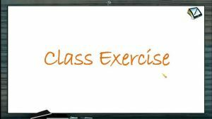 Newtons Law of Motion - Class Exercise (Session 4)