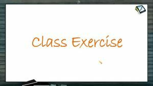 Newtons Law of Motion - Class Exercise (Session 7)