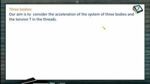 Newtons Law of Motion - Tension In The String When Three Bodies System (Session 4)