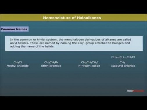 Class 12 Chemistry - Nomenclature Video by MBD Publishers