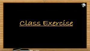 Nuclear Chemistry - Class Exercise (Session 4)