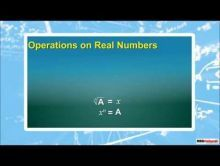 Class 9 Maths - Operations On Real Numbers Video by MBD Publishers