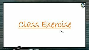 Organic Compounds Containing Nitrogen - Class Exercise (Session 7)