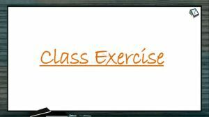 Origin And Evolution Of Life - Class Exercise (Session 9)