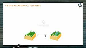 Origin And Evolution Of Life - Sympatric Distribution (Session 8)