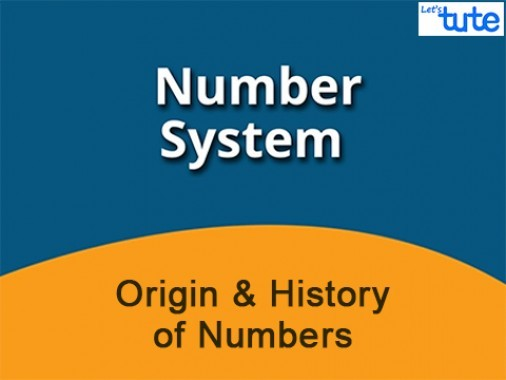 Class 9 Mathematics - Origin And History Of Numbers Video by Lets Tute