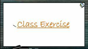 P Block Elements - Class Exercise (Session 13)