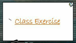 P Block Elements - Class Exercise (Session 14)