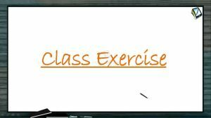 P Block Elements - Class Exercise (Session 17)