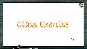 P Block Elements - Class Exercise (Session 18)