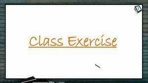 P Block Elements - Class Exercise (Session 19)