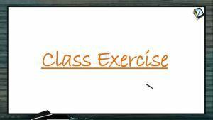 P Block Elements - Class Exercise (Session 21)