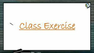 P Block Elements - Class Exercise (Session 7)