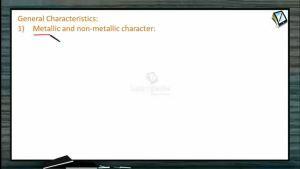 P Block Elements - General Characteristics (Session 7)