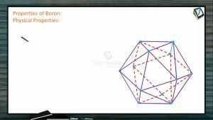 P Block Elements - Properties Of Boron (Session 3)