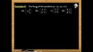 Parabola - Class Exercise On Parabola (Session 2 & 3)