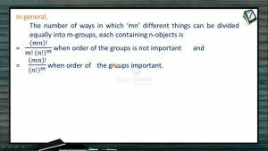 Permutation And Combination - Distribution  Of Things Into Groups 2 (Session 9 & 10)