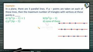 Permutation And Combination - Geometrical Applications 4 (Session 11)