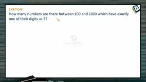 Permutation And Combination - Problems 2 (Session 1)