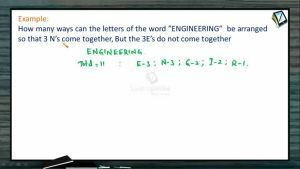 Permutation And Combination - Problems 2 (Session 6)