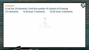 Permutation And Combination - Problems 3 (Session 8)