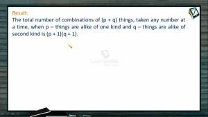 Permutation And Combination - Total Combinations 2 (Session 9 & 10)
