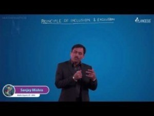 Permutations And Combinations - Principles Of Inclusion & Exclusion-I Video By Plancess