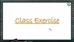 Plant Growth And Development - Class Exercise (Session 1)