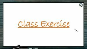 Plant Physiology - Class Exercise (Session 1)