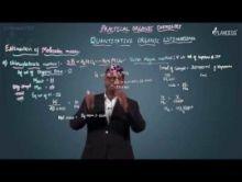 Practical Organic Chemistry - Estimation Of Molecular mass Video By Plancess