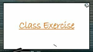 Principles of Inheritance And Variation - Class Exercise (Session 9)