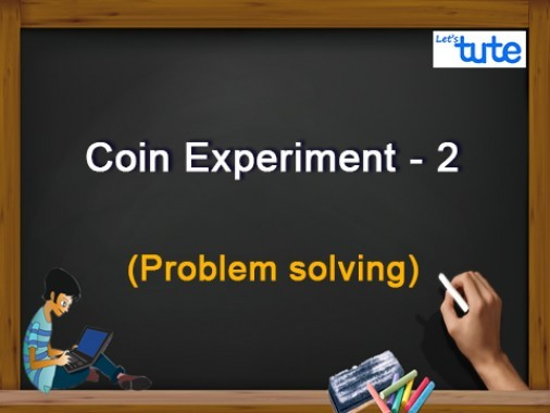 Class 10 Mathematics - Probability Coin Experiment II Video by Lets Tute