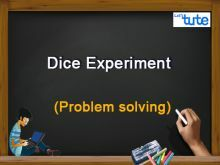 Class 10 Mathematics - Probability - Dice Experiment - Problem Solving Video by Lets Tute