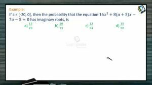 Probability - Examples 3 (Session 9 & 10)