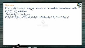 Probability - Multiplication Theorem (Session 6)