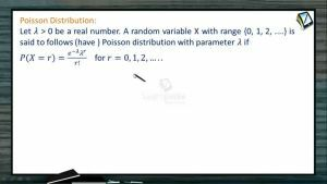 Probability - Poisson Distribution (Session 9 & 10)
