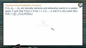 Probability - Total Probability Theorem (Session 7)