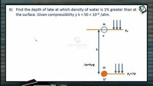Properties of Matters - Class Exercise-6 (Session 2)