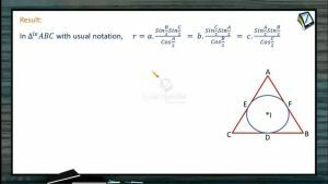 Properties Of Triangles - Inradius (Session 4)