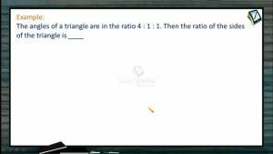Properties Of Triangles - Problems 1 (Session 1)