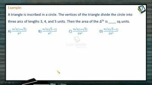 Properties Of Triangles - Problems 2 (Session 6)