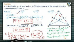 Properties Of Triangles - Problems 4 (Session 6)