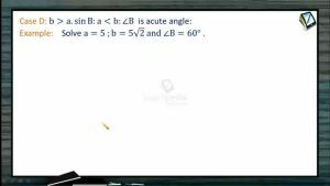 Properties Of Triangles - Solution Of Triangles 5 (Session 5)