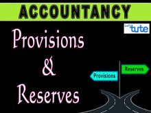 Class 11 Accountancy - Provision And Reserves Video by Let's Tute