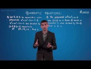 Quadratic Equations And Inequalities - Illustrations-I Video By Plancess