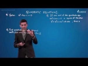 Quadratic Equations And Inequalities - Illustrations-II Video By Plancess